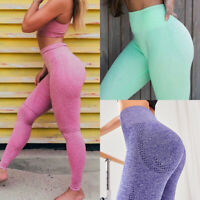 73f4d50f009a6 Women Seamless Sport Pants High Waist Yoga Fitness Leggings Running Gym  Trousers