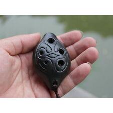 New 6 Holes Mediant C Tone Ocarina Pottery Kiln-fired Ceramic flute instrument D