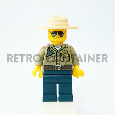 LEGO Minifigures - 1x cty264 - Forest Policeman - Omino Minifig Police 4440 4205