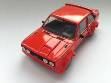 Del Prado Fiat Abarth 131 - rot etwa Matchbox Superfast Gr. Original 1/ 43