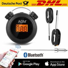 Funk Digital Fleisch Grillthermometer Braten Thermometer mit Dual-Sonde für BBQ