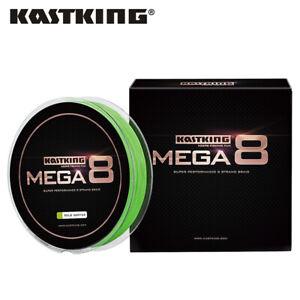 KastKing Mega 8 Braided Fishing Line 137/274/457m Strong 8Strands Leader Line AU