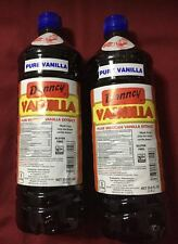 Case Twelve 12 Danncy Pure Mexican Vanilla Extract White Clear 1L each