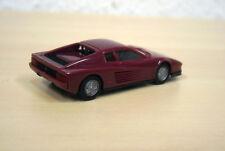 """Herpa - Ferrari Testarossa """"HighTech"""" - violett - Adventskalender 1996 - 1:87"""