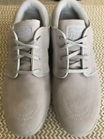 Nike SB Janoski G Spikeless Golf Shoes Gray/White Mens Size:11 Suede AT4967-002