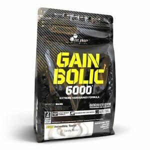 Olimp gain Bolic 6000 Mass Gainer Protein 15lbs Gain Muscular Take Of Mass