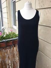 SISLEY Kleid schwarz lang Größe M super Zustand