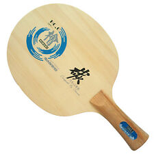 Sanwei HC.6 Table Tennis Blade, HINOKI+Hard Carbon Long shakehand  FL