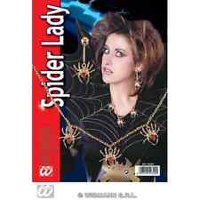 SET BIGIOTTERIA SPIDER LADY CARNEVALE HALLOWEEN