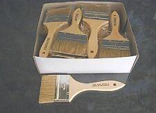"""3"""" Disposable Bristle paint/ Chip brushes 12 per box"""