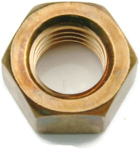 Silicon Bronze Finished Hex Nut UNC 5/8-11, Qty 25