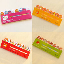 Cute Animal Mini Post-It Stick Marker Practical Stationery(Random Pattern)