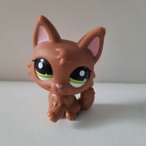 Littlest Pet Shop LPS Brązowy Wilk Pies # 2440