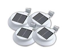 4 xsolare POWERED 3 LED per esterni parete policristallino pannello solare del tetto