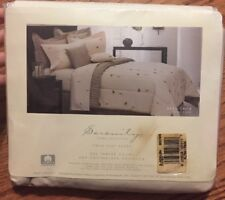 Vintage SERENITY HOME COLLECTION NEW TWIN FLAT SHEET RESILIENCE TAN USA MADE