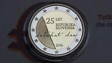 2 euro 2016 Fs proof BE PP SLOVENIA Slovenija Slovenie Slowenien Словения