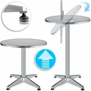 KESSER® Stehtisch klappbar Bistrotisch ALU 2in1 Bartisch Klapptisch Rund Tisch