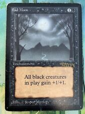 x1 Beta Bad Moon (Signed) MTG Magic
