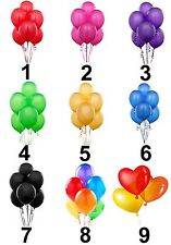 Balloons Small Or Large Sticky White Paper Stickers Labels New