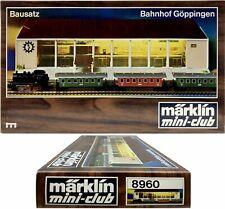 Marklin Z Scale 8960 Goppingen Train Station Building Kit - C8 Original Box