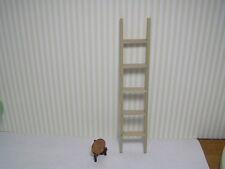 "Miniature Dollhouse 6"" Wooden Ladder"