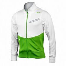 Nike Rafael Nadal Men's Fearless Ace RAFA Swoosh Tennis Jacket White 404678 UK L