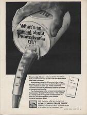1970 Print Ad of Pennsylvania Penn Grade Crude Motor Oil