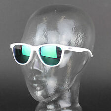 Oakley Moonlighter Blanc Brillant Jade Iridium Polarisé Oo9320-06
