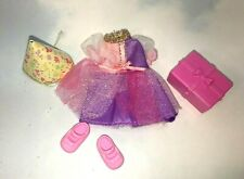 KELLY Club Doll Clothing: Happy Birthday Lianna Party DRESS Hat Shoes
