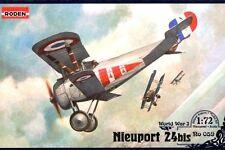 NIEUPORT Ni 24 BIS (FRENCH, AMERICAN & SOVIET AF MARKINGS) 1/72 RODEN