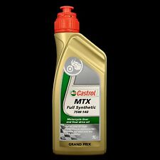 CASTROL MTX Full Synthetic SAE 75w-140, MOTO riduttori