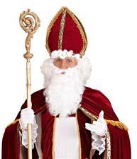 Deluxe Red Bishop Pontif  Priest Cardinal Pope Mitre Men's Fancy Dress Hat