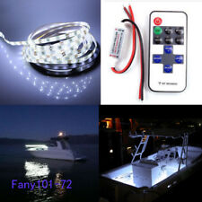 Wireless White LED Strip Kit For Boat Marine Deck Interior Lighting 16 ft