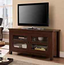 TV Stand Console Cabinet Home Entertainment Media Center Storage Wood Furniture
