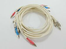 14 Synergistic Research Synergy 1000 Audiophile Audio RCA Cable Interconnect Lot