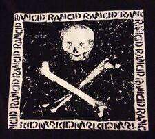 RANCID Skull big back patch punk oi