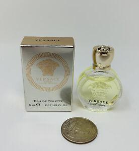 Versace Eros Pour Femme EDT Women's Perfume Mini Splash 5 ml/0.17 fl oz New