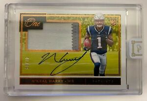 2019 Panini One - N'Keal Harry #8 - Patriots Rookie Patch Auto /49