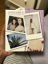 Brand New polaroid camera instax mini 9 Lilac Color