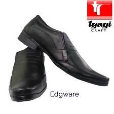 Nuevos Zapatos para hombre Traje de Cuero Negro Oficina Inteligente Todos Los Tamaños Vestido Formal Boda