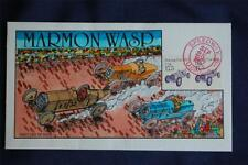 1911 Marmon Wasp Racing Car 17.5c Stamp FDC Handpainted Collins#A1301 Sc#2262