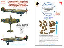 Spitfire  Vb Desert Paint Cammo Masks - I R Gleed Revised 1/24