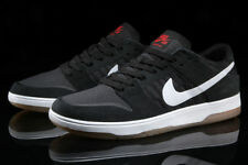Nike SB Dunk bajo Elite Reino Unido 7.5 EUR 42 Negro/Blanco/Goma/Luz Marrón/Antracita