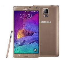 "5.7"" Samsung Galaxy Note 4 SM-N910A 32GB 16MP 3GB RAM- Gold (Unlocked) Cellphone"