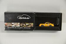 19 ) BUB 1:87 Bubmobile Porsche 911 Carrera RS Jahrestreffen 2006 Elferliste OVP