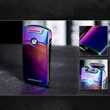 Super Cool Plasma Electric Arc Laser Colorful Cigarette USB Lighter Rechargeable