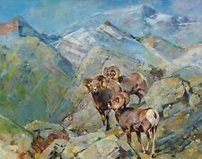 Rungius Carl Bighorn Sheep Print 11 x 14  #6165