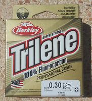 Fluorocarbon Berkley Trilene Leader 50 metri - 0.30 - 7Kg