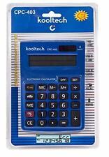 Kooltech 017430 Calculatrice Euro, 8 chiffres/403/48