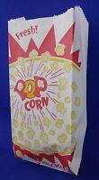 "1 oz Popcorn Snack Paper Bags 3.5"" x 2"" x 8"" Concession Machine supplies"